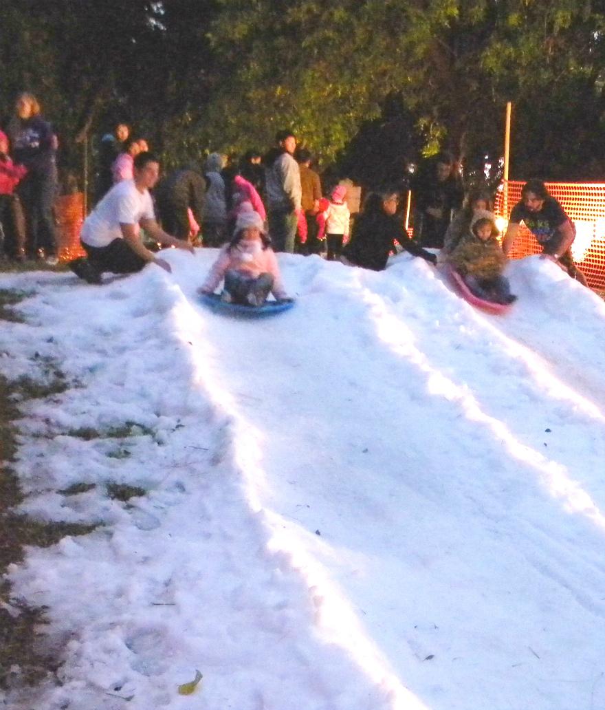 50 Tons Of Frozen Fun At Winterfest City Of Garden Grove