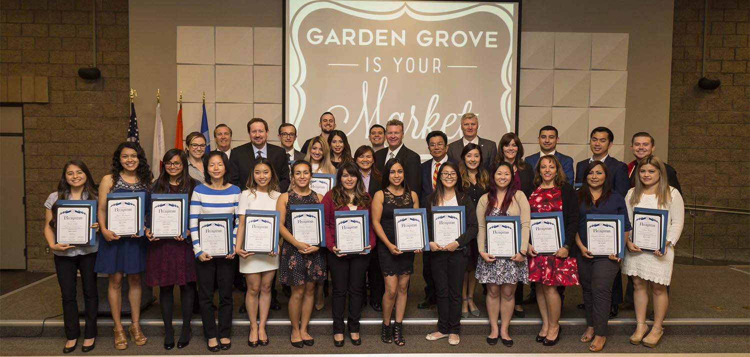 City Honors Over 30 Local College Graduates City Of Garden Grove