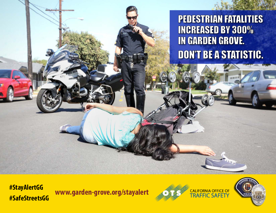 Photo of the Accident Reduction Campaign flyer