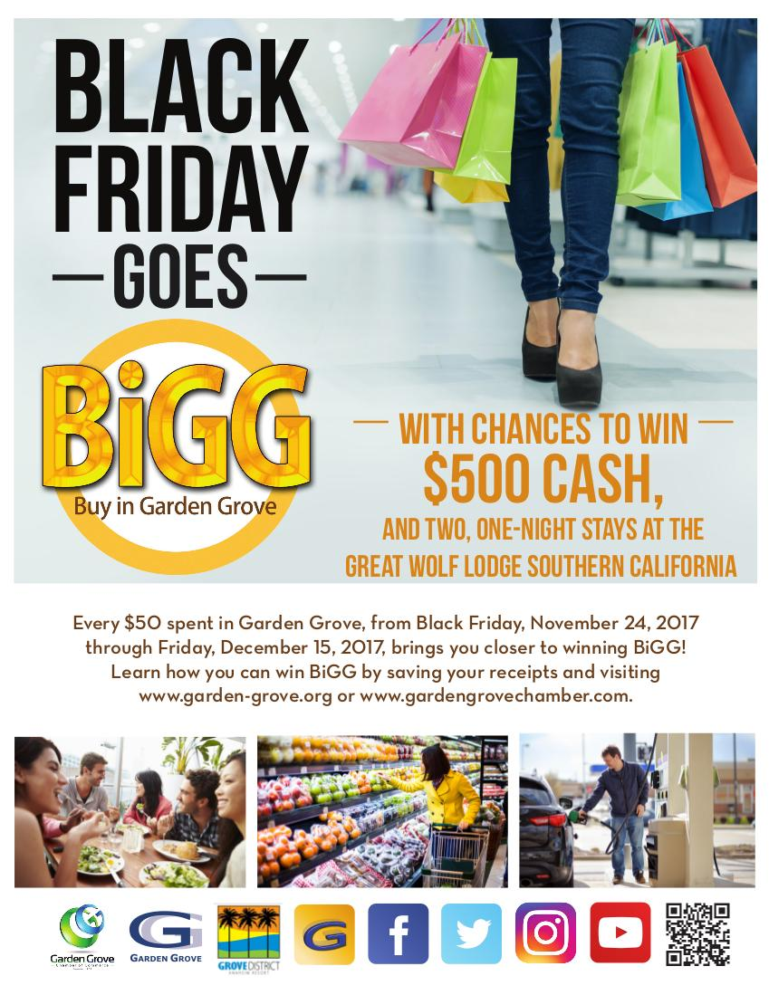 Black Friday Goes BiGG flyer