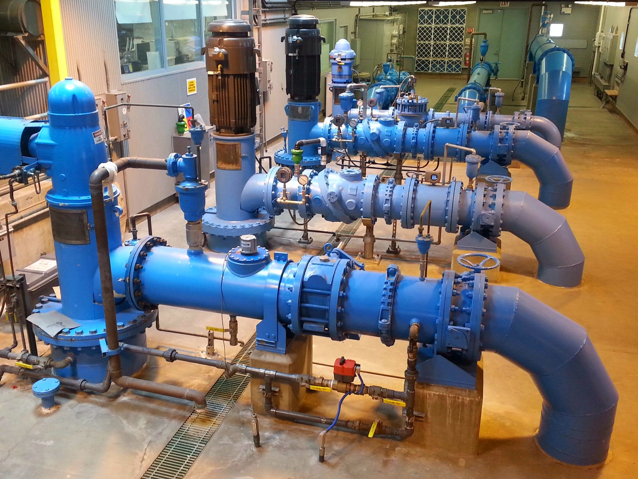 Photo of a Booster Pump