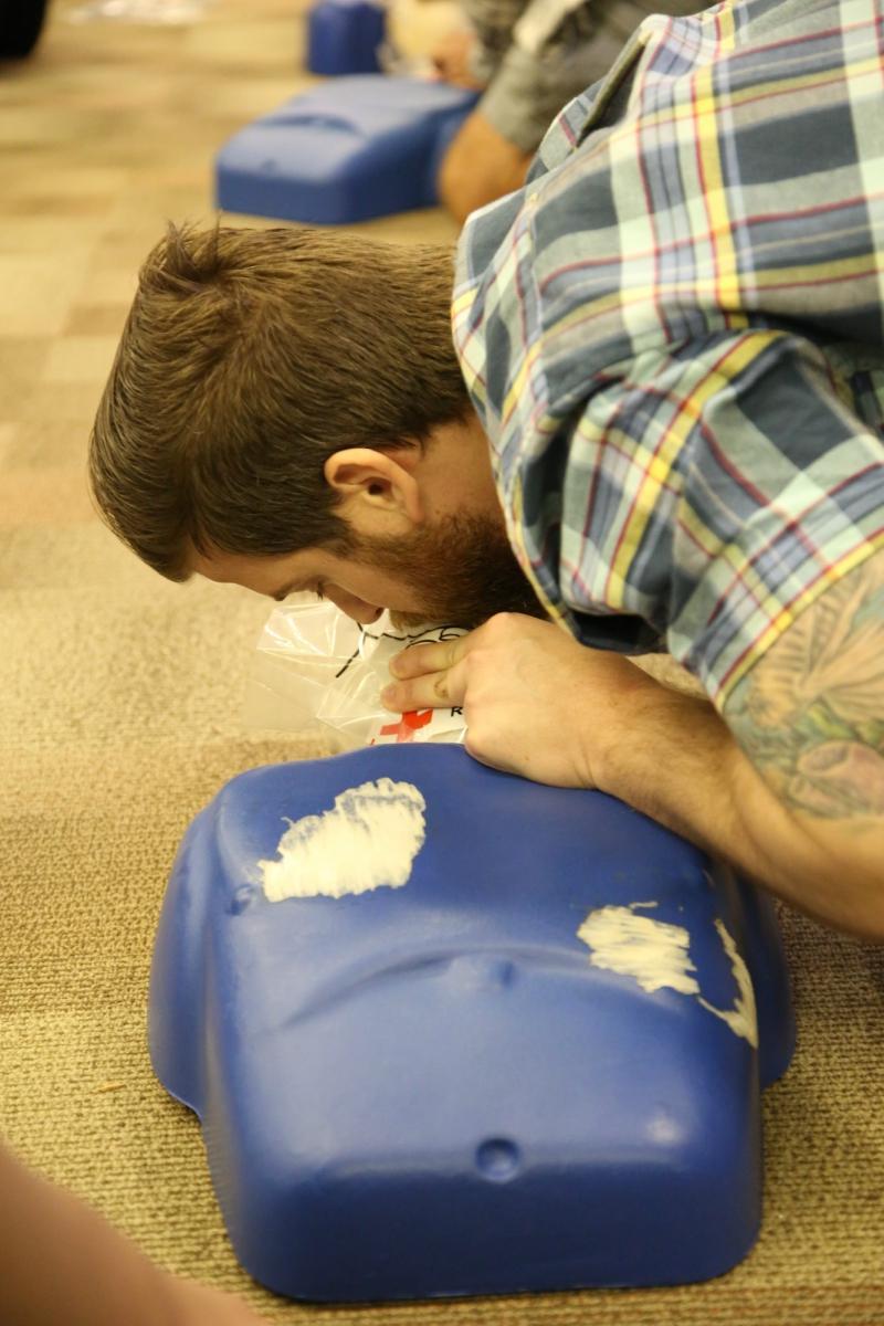 CERT CPR Class Photo