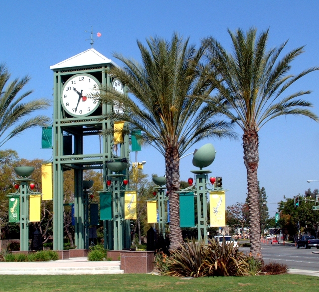 Tower On The Green Gets A Facelift City Of Garden Grove