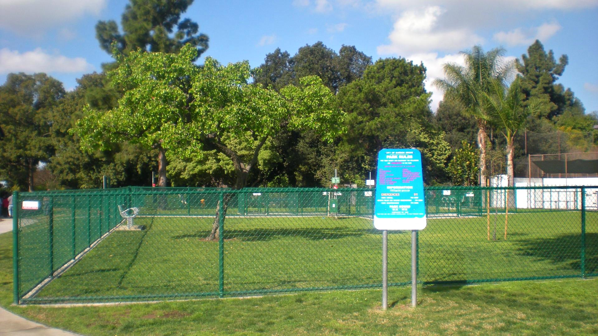 Garden Grove Dog Park Closing For Renovations City Of