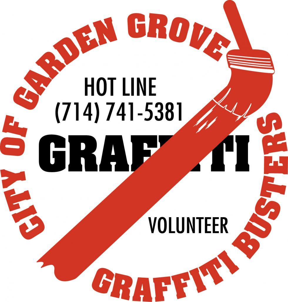 Graffiti Busters Hotline Logo