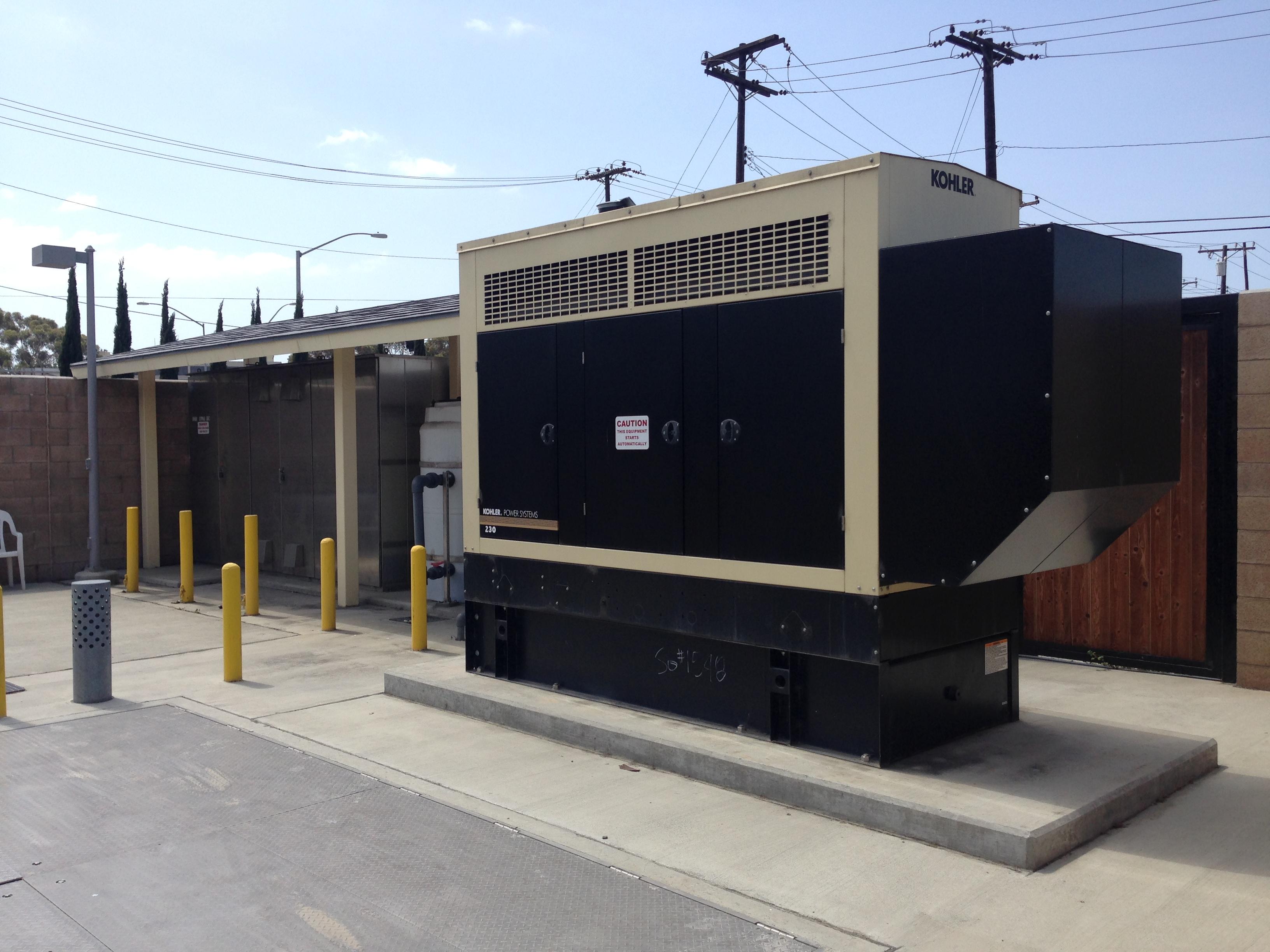 Photo of Tiffany Sewer Lift Station