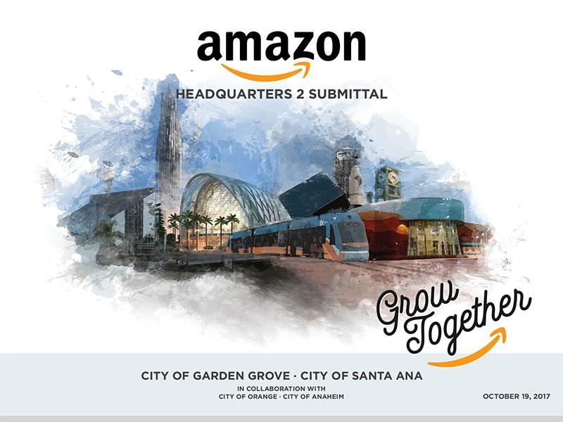 Amazon Hq2 City Of Garden Grove