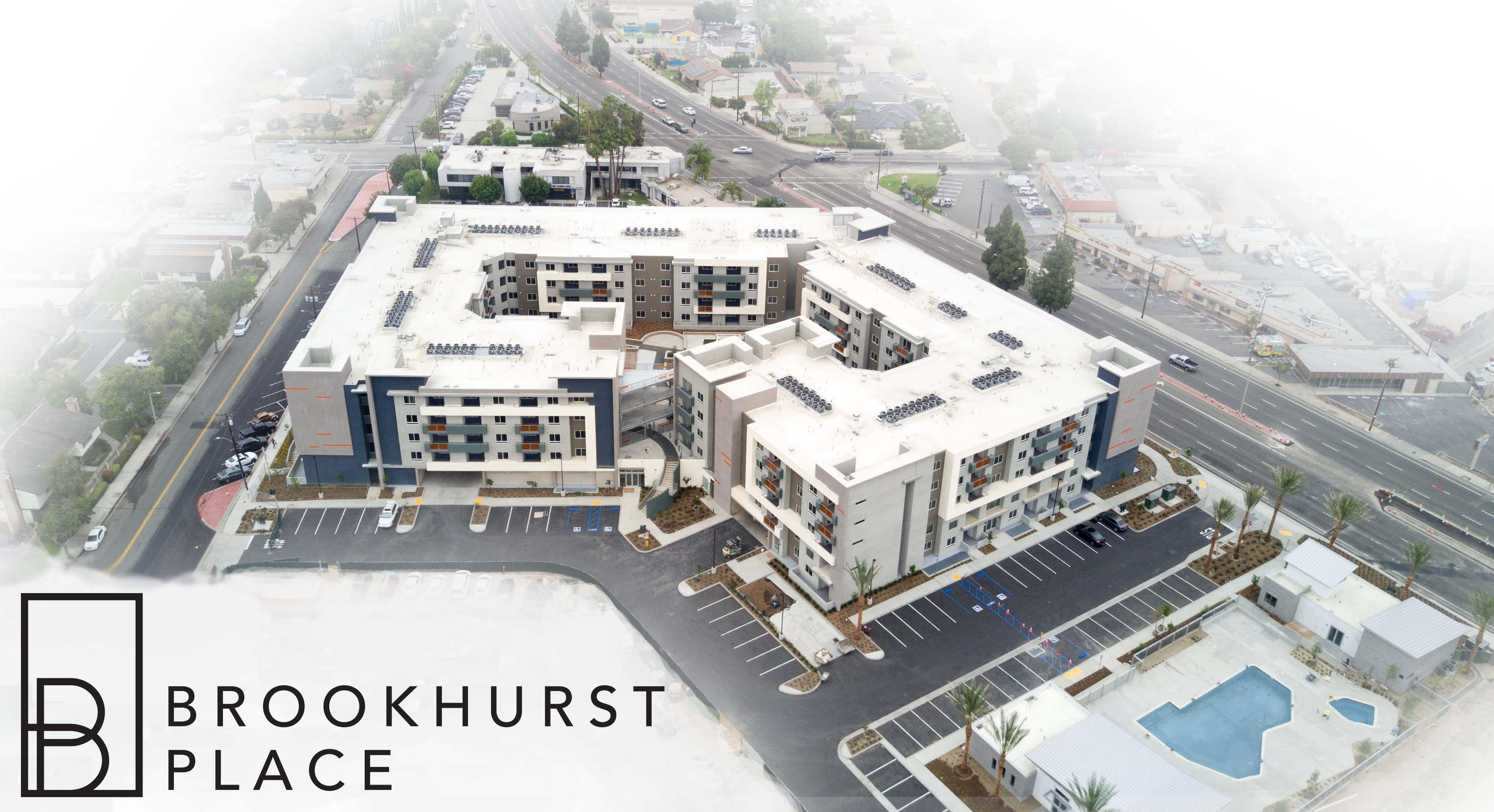 Photo of Phase I of Brookhurst Place development.
