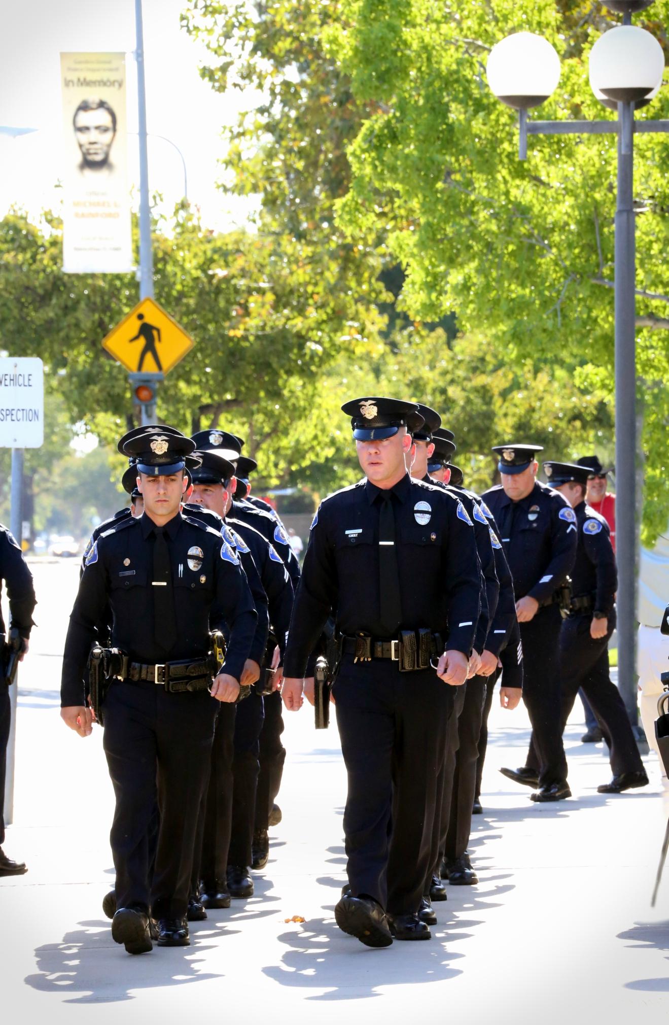 City of garden grove call to duty police memorial Garden grove breaking news now