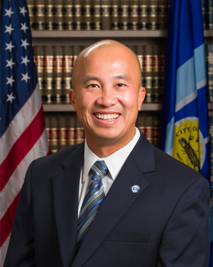 City Council Member Christopher Phan Photo and Bio Page