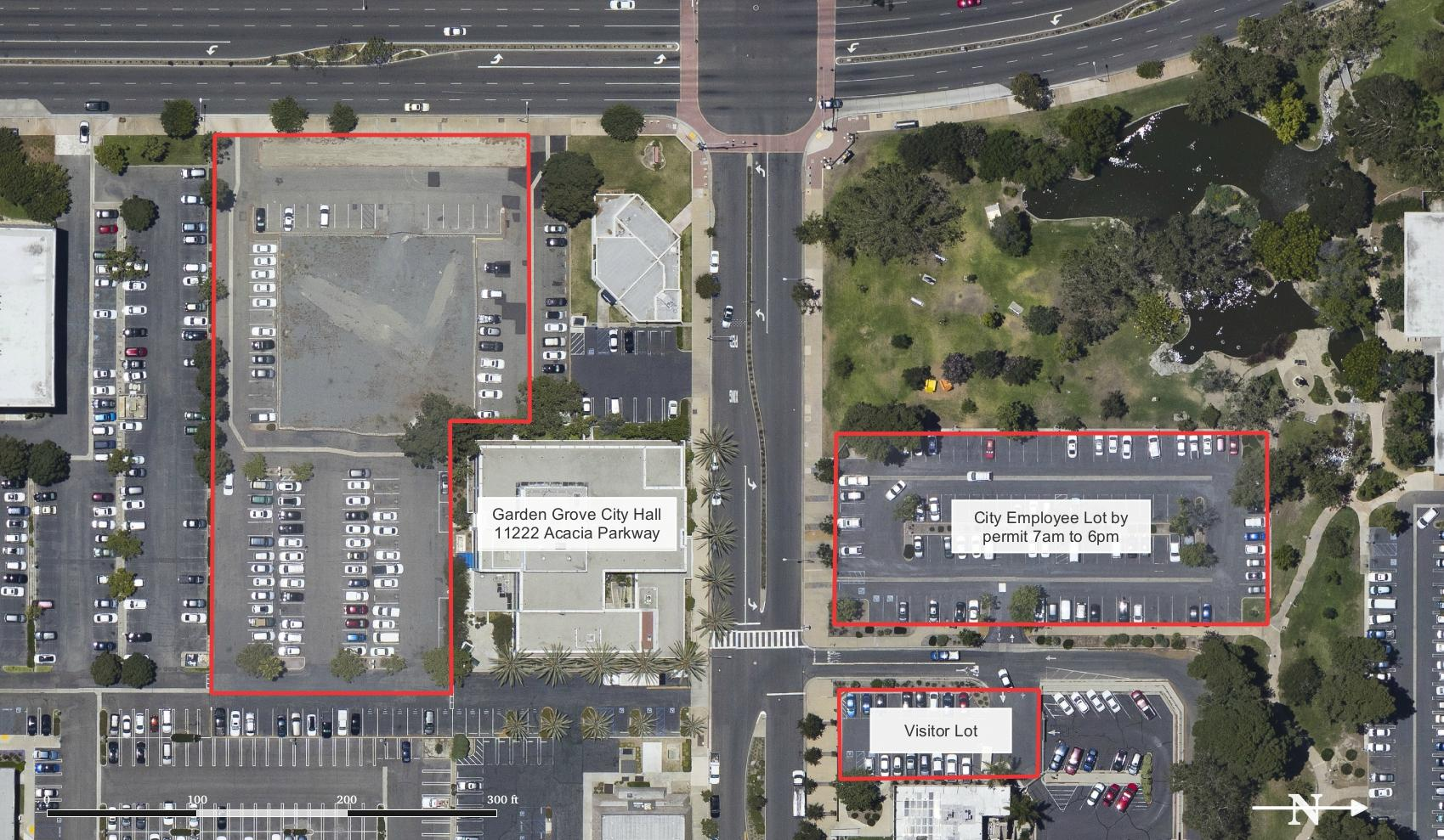 New Parking Area For Garden Grove City Hall City Of Garden Grove