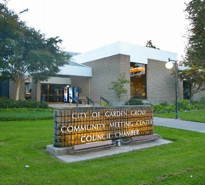 Community Meeting Center Under Temporary Closure City Of Garden Grove