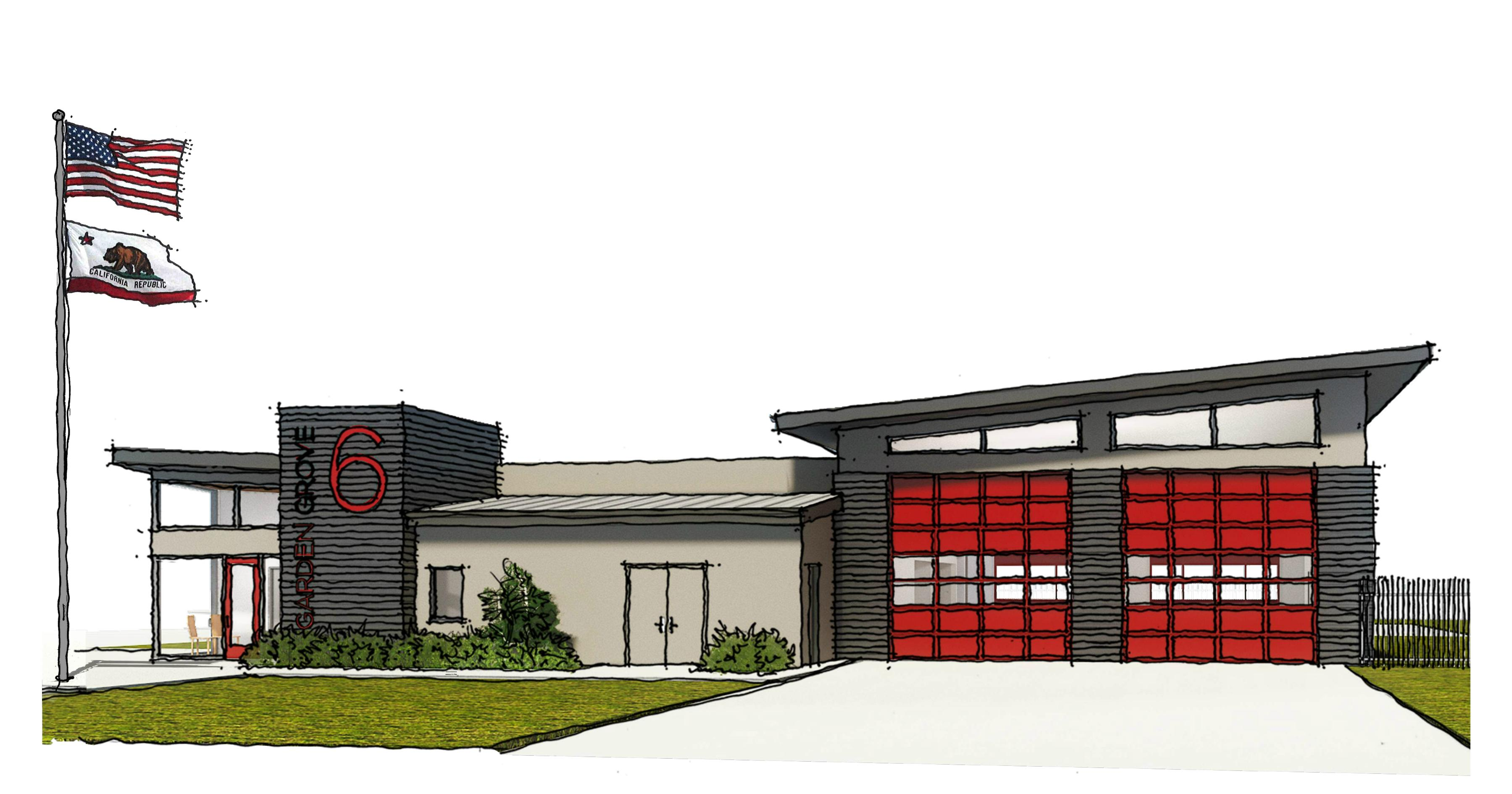Garden Grove To Build 5 5 Million Fire Station To Replace 45 Year Old Facility City Of Garden