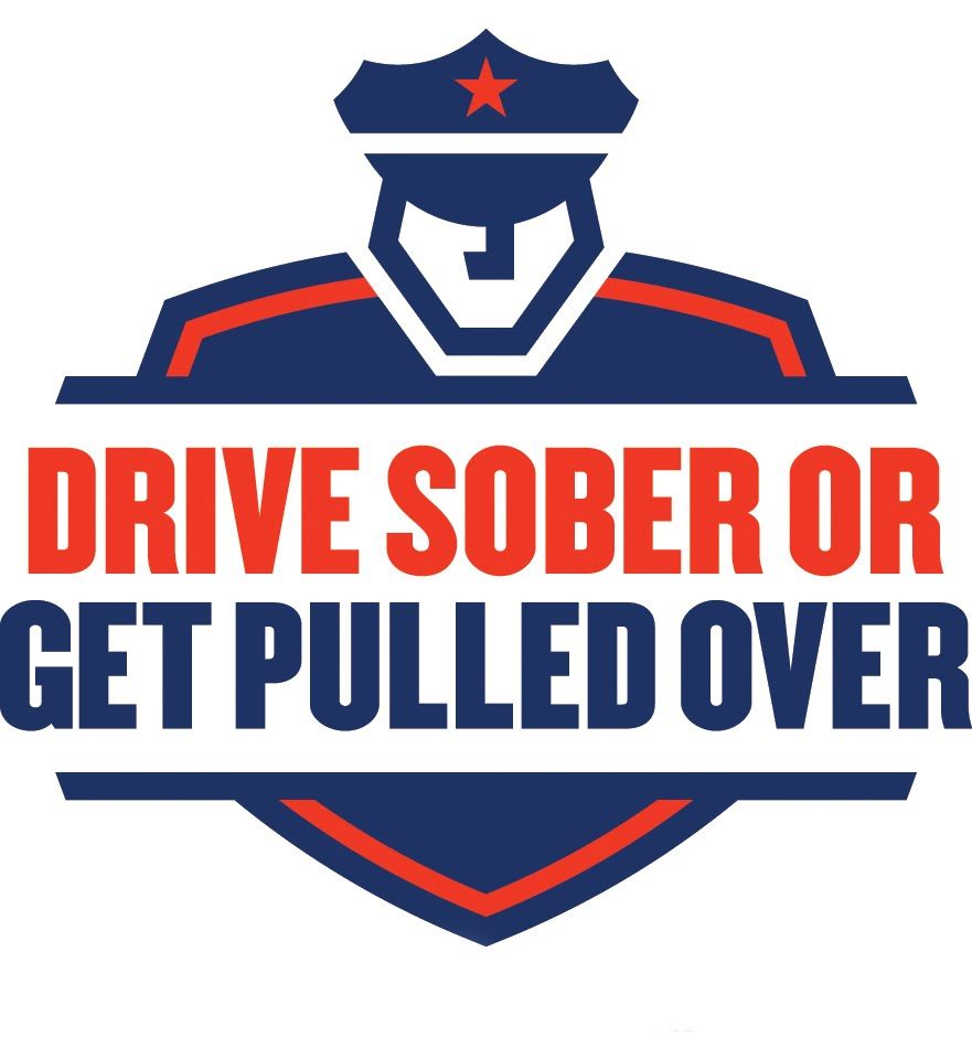 Drive Sober or Get Pulled Over Logo