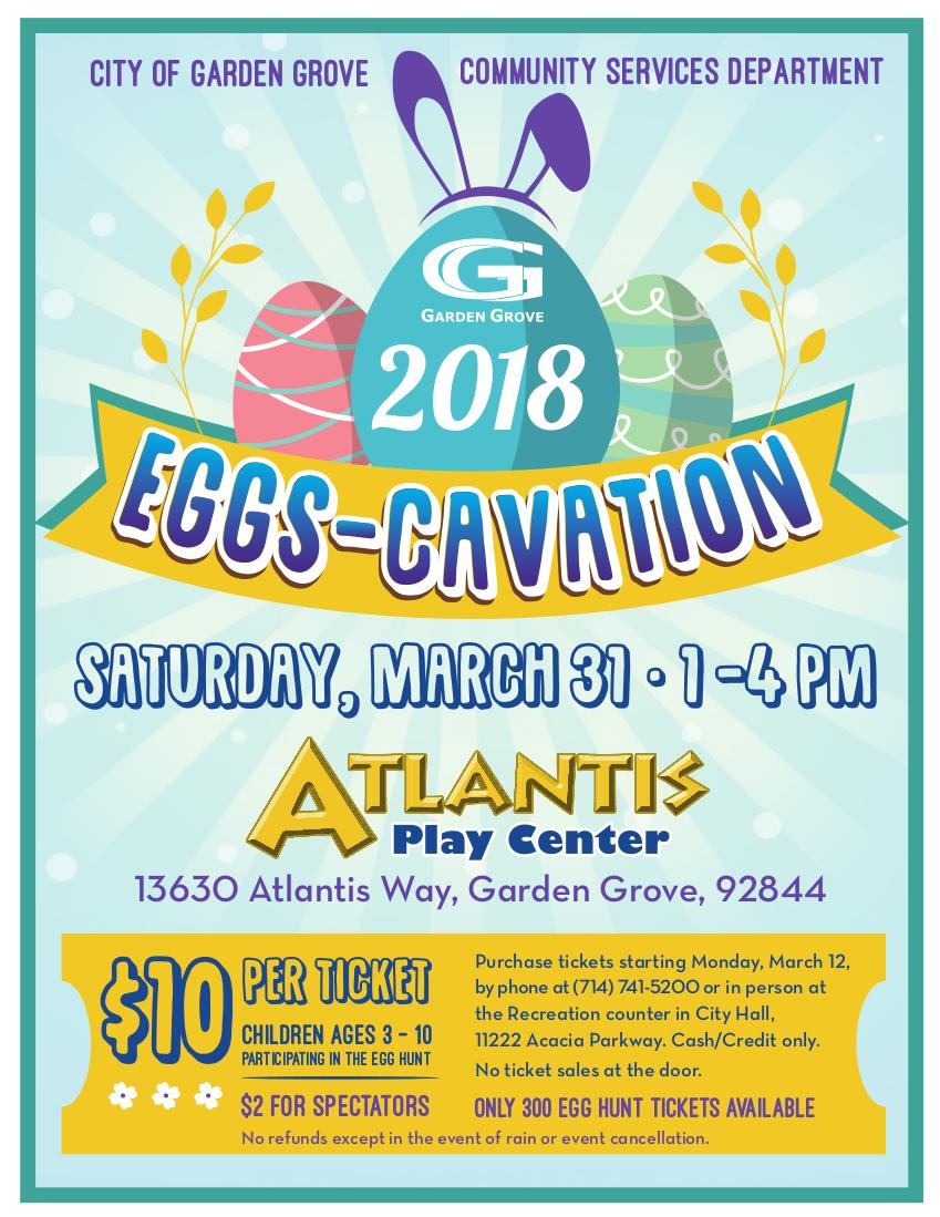 Photo of Eggscavation Flyer 2018