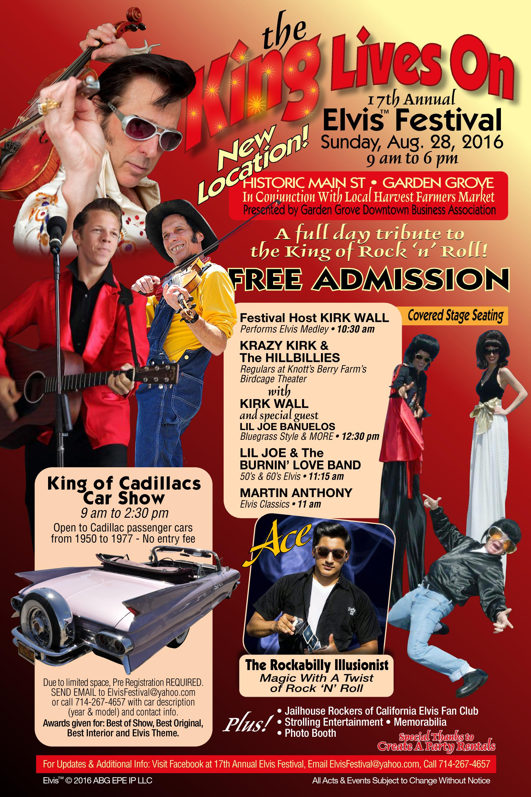 elvis festival ready to shake rattle and roll on main street