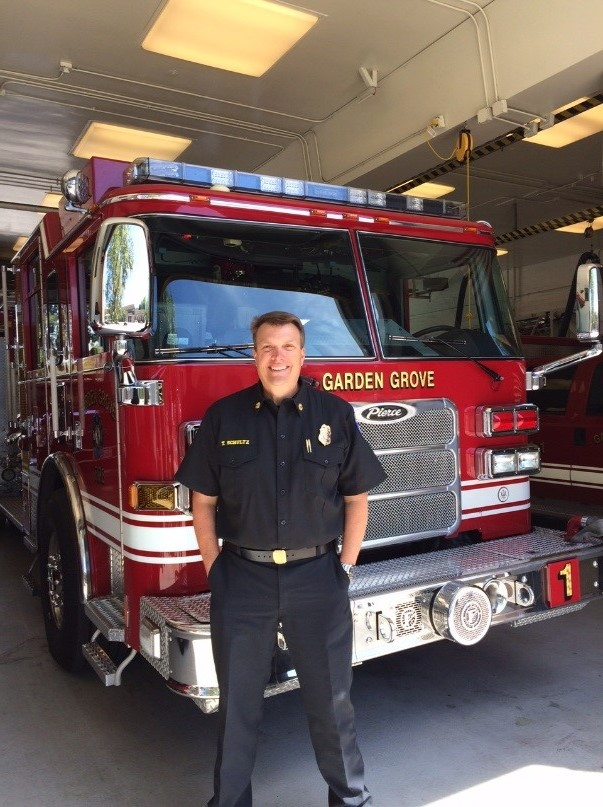 Photo of Fire Chief Tom Schultz