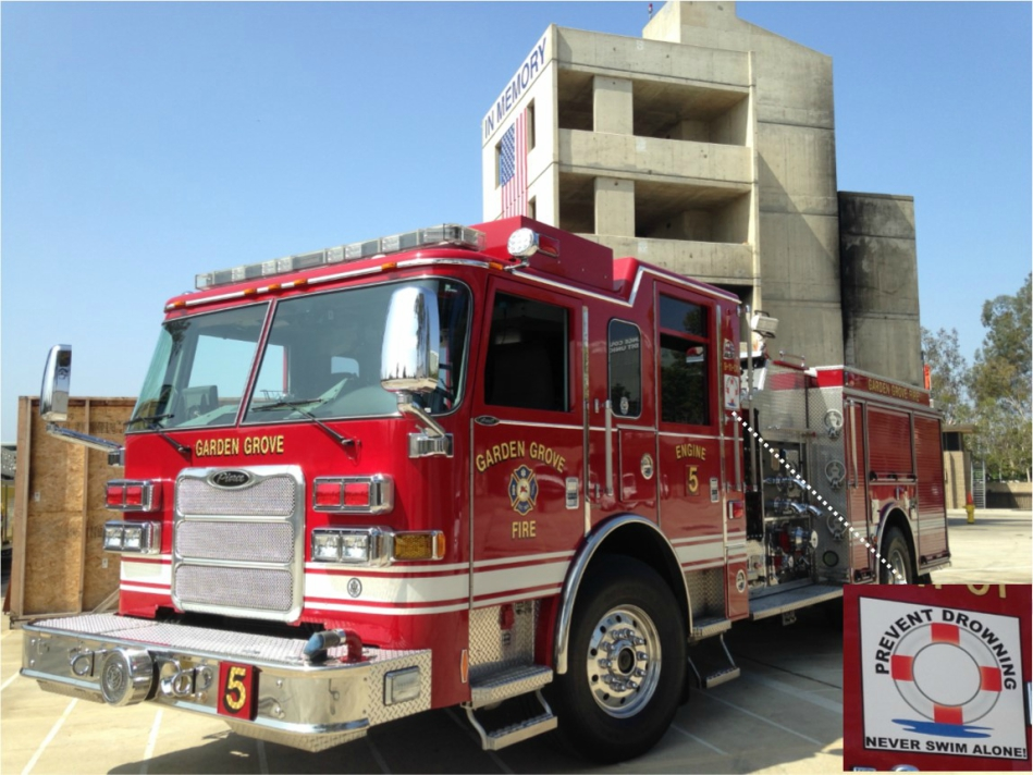 Fire Department Urges Residents To Be Water Safe City Of