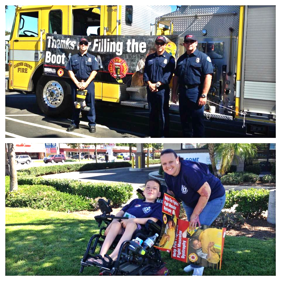 Garden Grove Fire Joins Mda For Fill The Boot City Of
