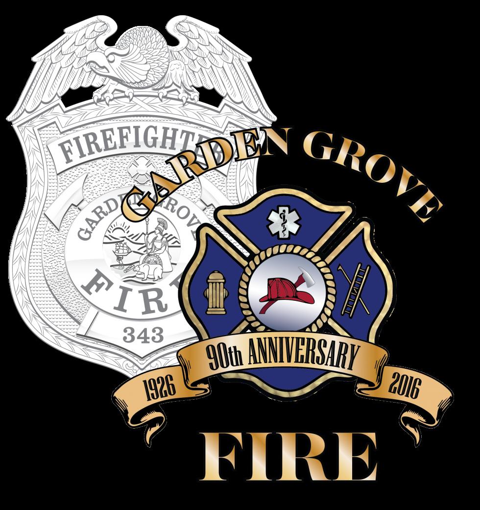 Garden Grove Fire Department Logo