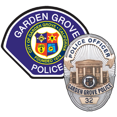 Photo the Garden Grove Police Department's logo