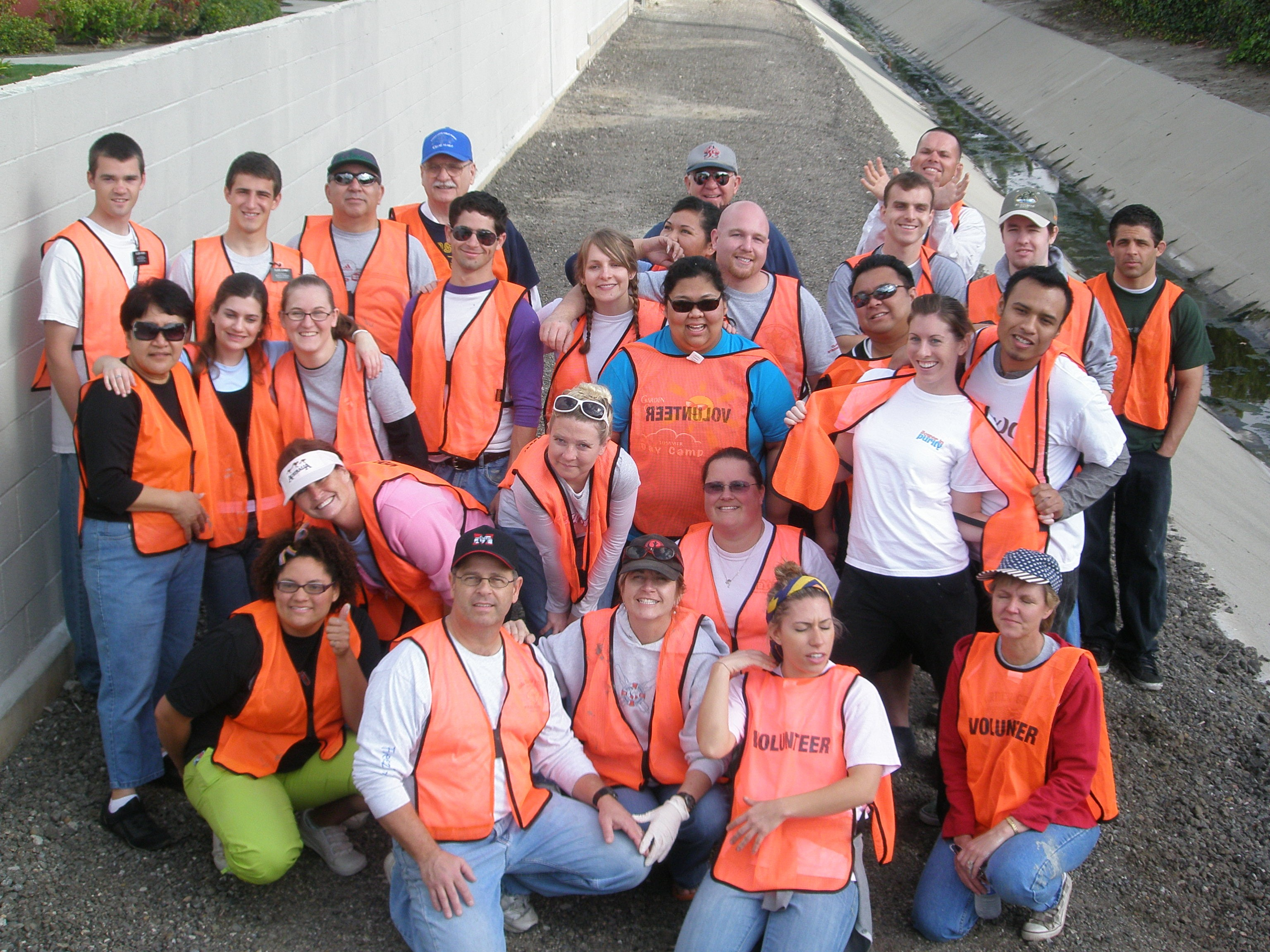 Photo of Project GO Volunteers