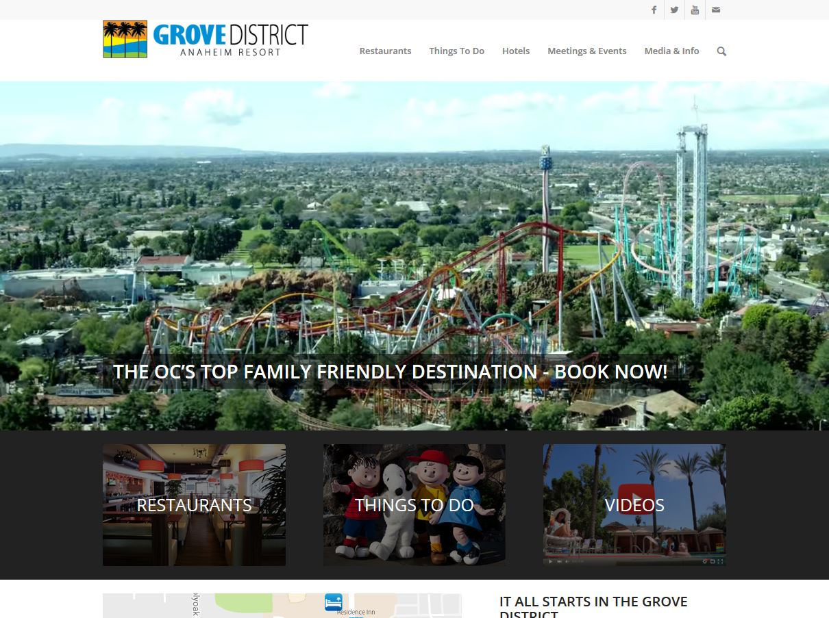 Grove District Website