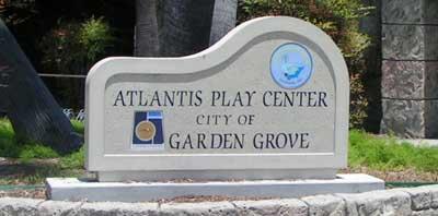 Atlantis Play Center Sign