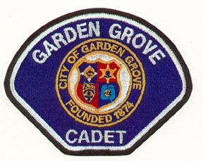 Garden Grove Cadet Patch
