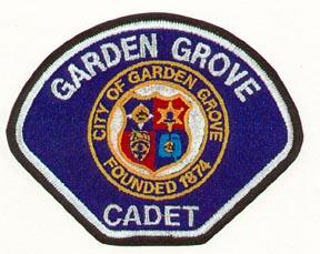 Garden Grove Cadet Patch