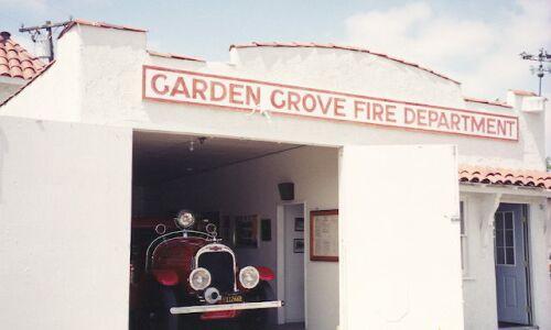 Fire Station City Of Garden Grove
