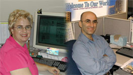 Photo of Graphics Department Staff