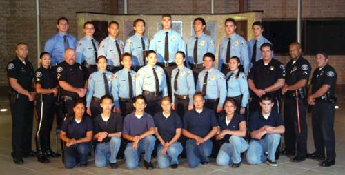 Photo of Police Explorers