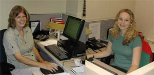 Photo of Word Processing Staff