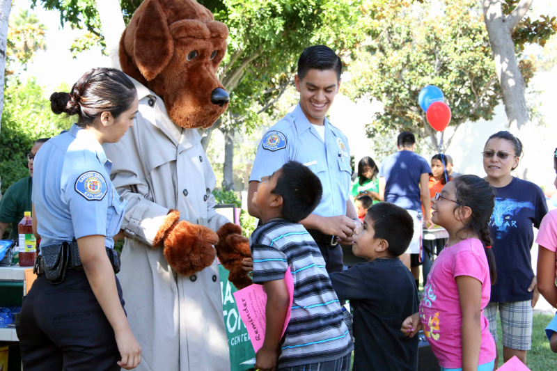 Photo of the National Night Out event in 2015