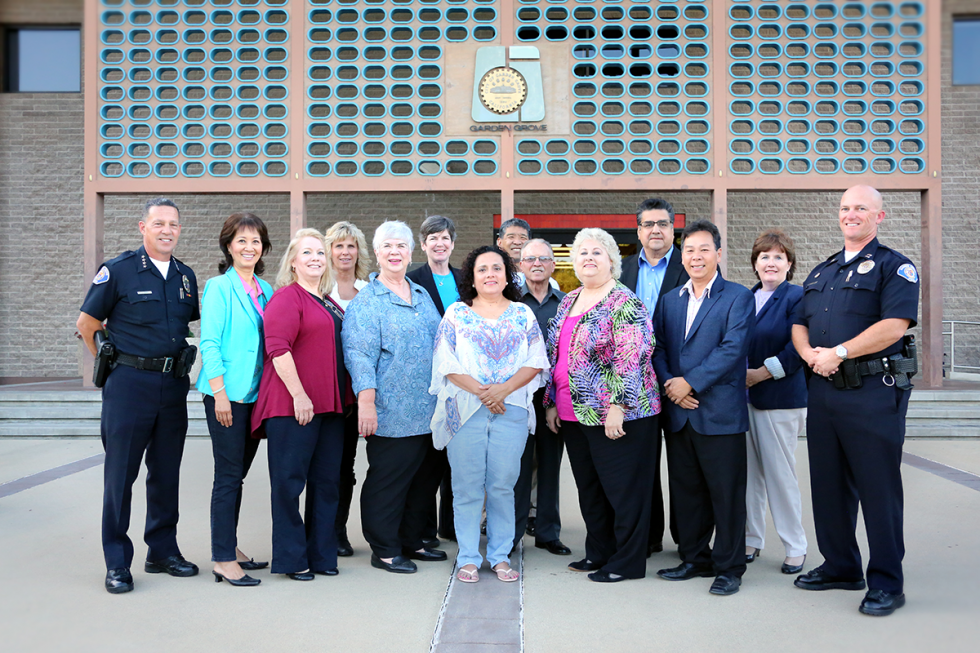 Photo of the Community Policing Advisory Board