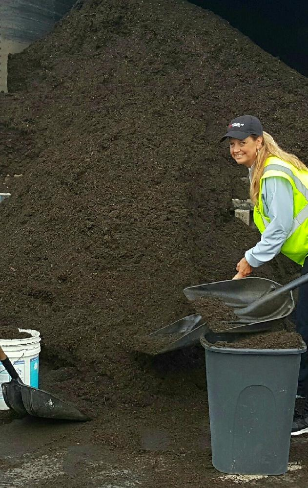 Photo from 2017 Compost Event.