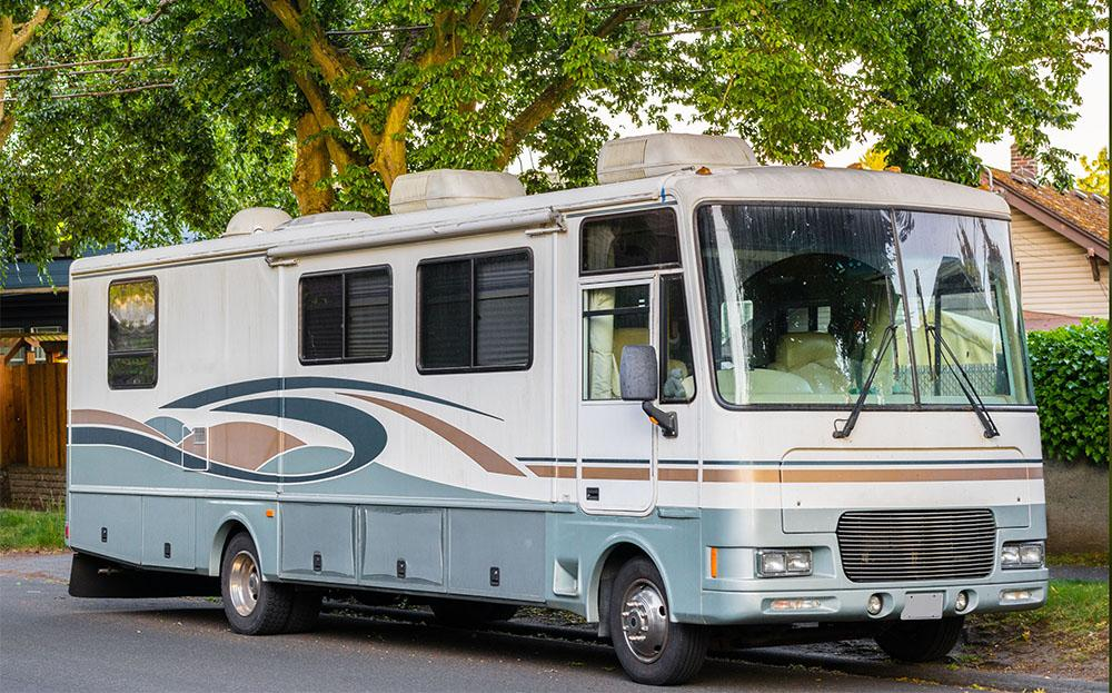 stock photo of a recreational vehicle