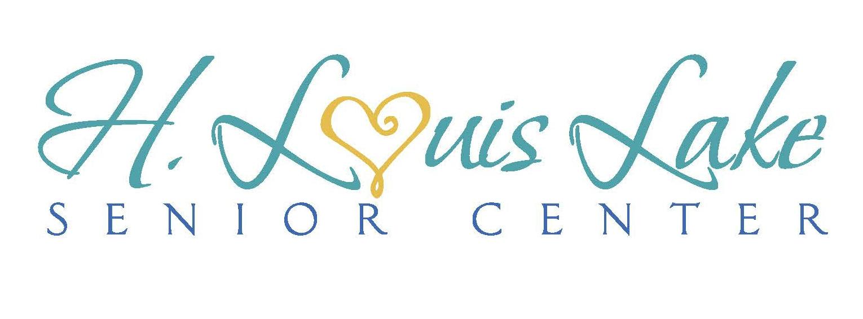 H. Louis Lake Senior Center Logo