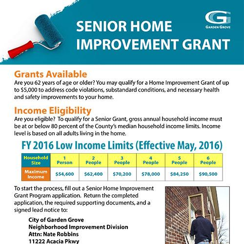 Housing Grant & Loan Programs