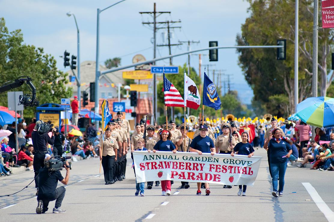 Strawberry Festival Parade