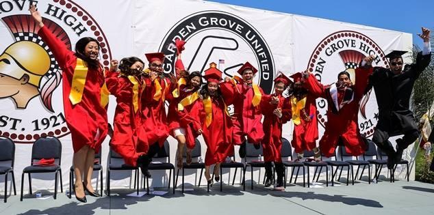 -- Garden Grove High School Class of 2017 Graduates --