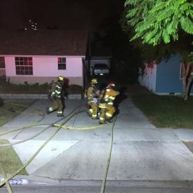 Elderly Woman Saved From Structure Fire City Of Garden Grove