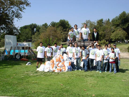 Garden Grove Teams With Beach Cities For Major Cleanup