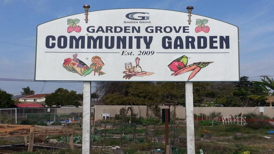 Garden Grove Community Garden City Of Garden Grove