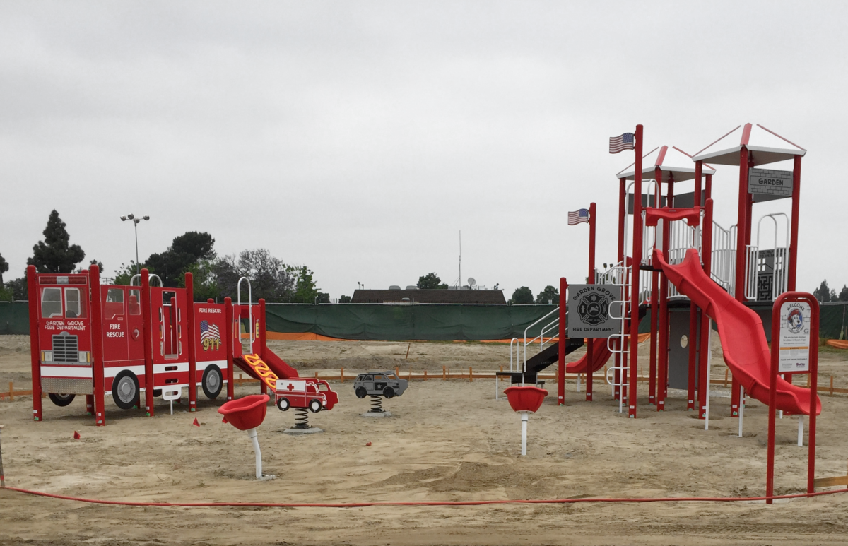 Photo of West Haven park playground.