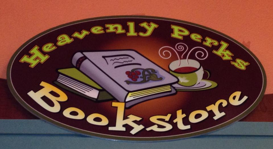 Heavenly Perks Bookstore Logo