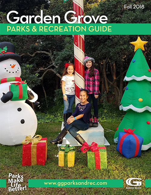Fall Parks and Rec Guide Cover