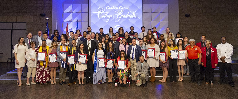 Garden Grove College Graduates Class Of 2019 City Of Garden Grove
