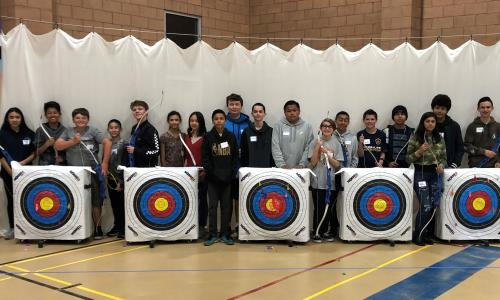 'Teens Try Archery' Program